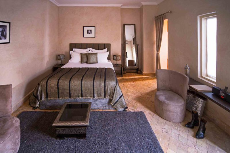 RIAD COCOON MARRAKECH | riad luxe medina - terrasse - lit chambre double - Marrakech Riad_Cocoon